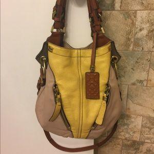 orYANY Pebble Leather Victoria Bag $238